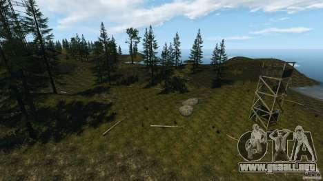 The Loggers Point para GTA 4 adelante de pantalla