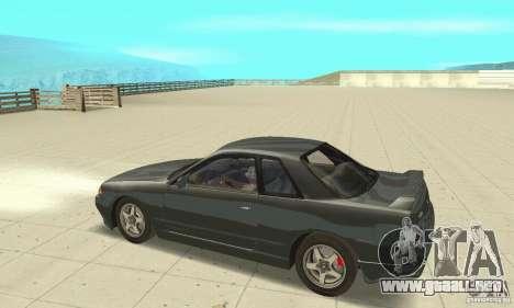 Nissan SkyLine R32 para GTA San Andreas left