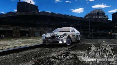 Nissan Laurel GC35 Itasha para GTA 4 vista hacia atrás