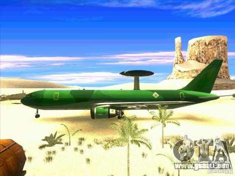 Boeing E-767 para GTA San Andreas left