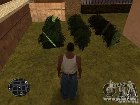 Marihuana v2 para GTA San Andreas séptima pantalla