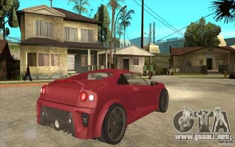 Mastretta MXT para la visión correcta GTA San Andreas