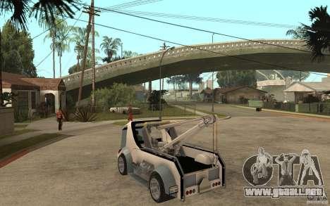 Lil Redd Wrecker para GTA San Andreas vista posterior izquierda