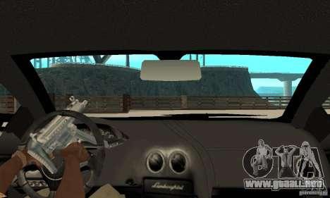 Lamborghini Murcielago Tuned para la visión correcta GTA San Andreas