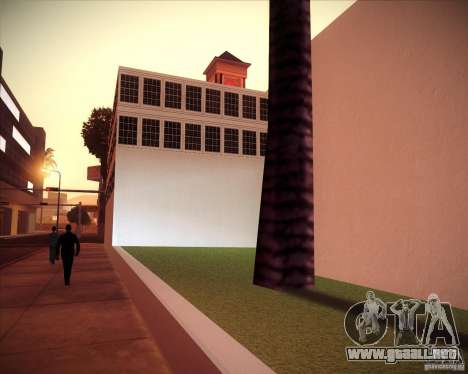 All Saints Hospital para GTA San Andreas sucesivamente de pantalla