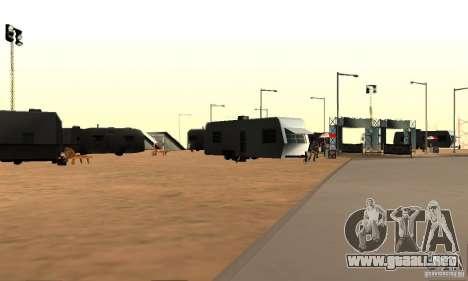 Pista para la deriva, el Big Ear v1 para GTA San Andreas tercera pantalla