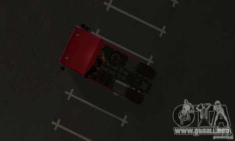 KAMAZ 5460 piel 1 para GTA San Andreas vista hacia atrás