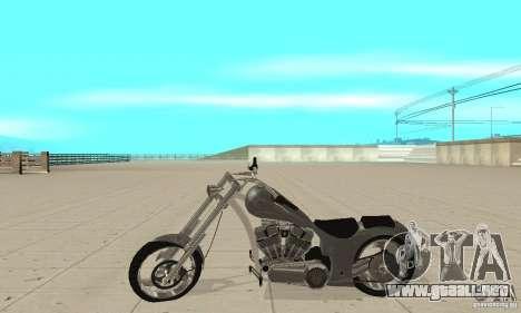 GTAIV Hellfury para GTA San Andreas left
