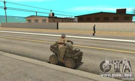 Nuevo Atv para la visión correcta GTA San Andreas