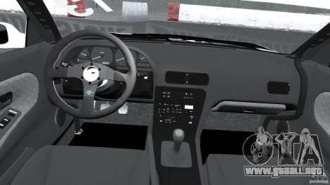 Nissan Silvia S13 Non-Grata [Final] para GTA 4 vista hacia atrás