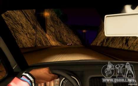 Skoda Octavia Scout para GTA San Andreas vista hacia atrás