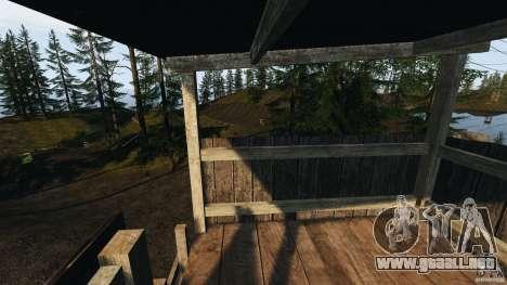The Loggers Point para GTA 4 octavo de pantalla