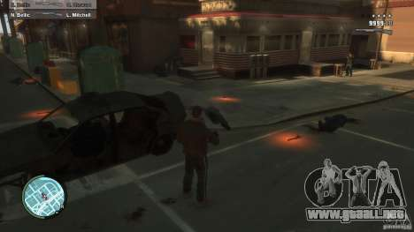 First Person Shooter Mod para GTA 4 quinta pantalla
