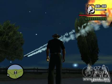 Apoyo aéreo para GTA San Andreas