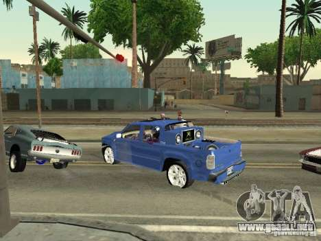 Ballas 4 Life para GTA San Andreas tercera pantalla