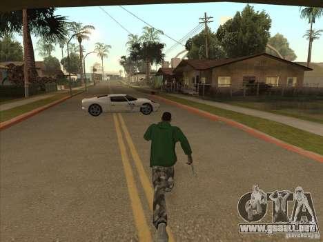 El guión de CLEO: Super coche para GTA San Andreas sucesivamente de pantalla