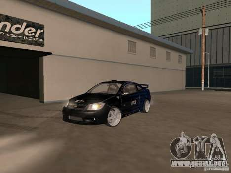 Chevrolet Cobalt Tuning para la visión correcta GTA San Andreas