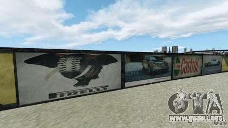 Dakota Raceway [HD] Retexture para GTA 4 séptima pantalla