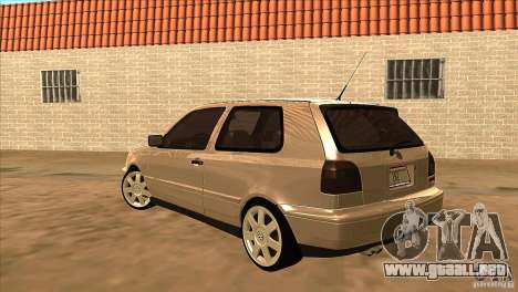 Volkswagen Golf MK3 VR6 para GTA San Andreas vista posterior izquierda