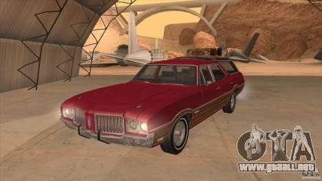 Oldsmobile Vista Cruiser 1972 para GTA San Andreas