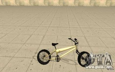 BMX Long para GTA San Andreas left