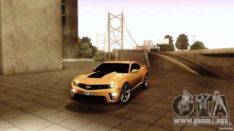 Chevrolet Camaro ZL1 2011 v1.0 para GTA San Andreas