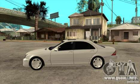 Mercedes Benz S600 para GTA San Andreas left