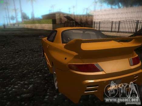 Mitsubishi FTO Tuning para GTA San Andreas vista posterior izquierda