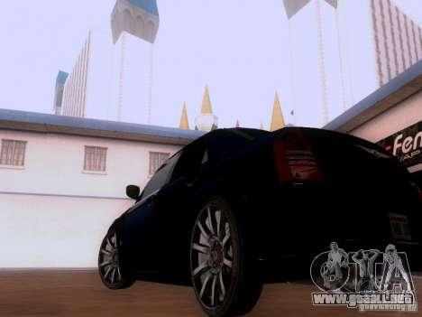 Chrysler 300 c SRT8 2007 para la visión correcta GTA San Andreas