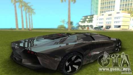Lamborghini Reventon para GTA Vice City visión correcta