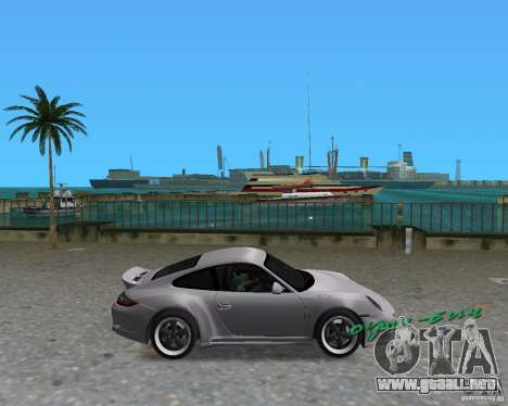 Porsche 911 Sport para GTA Vice City left