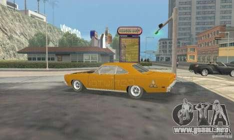 Plymouth Roadrunner 383 para la visión correcta GTA San Andreas