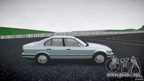 BMW 535i E34 para GTA 4 vista hacia atrás