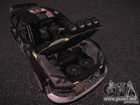 Ford Focus RS Monster Energy para visión interna GTA San Andreas