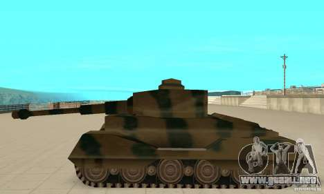 RL-Tiger Tank para GTA San Andreas left