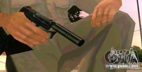 Weapon Pack v 5.0 para GTA San Andreas segunda pantalla