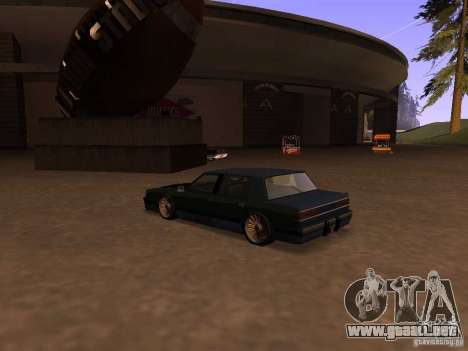Willard Drift Style para GTA San Andreas left