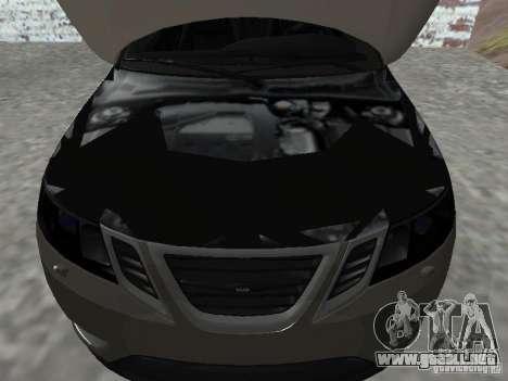 Saab 9-3 Turbo X para la visión correcta GTA San Andreas