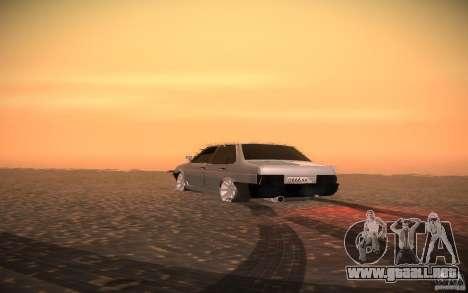 VAZ 21099 estilo Tuning para visión interna GTA San Andreas