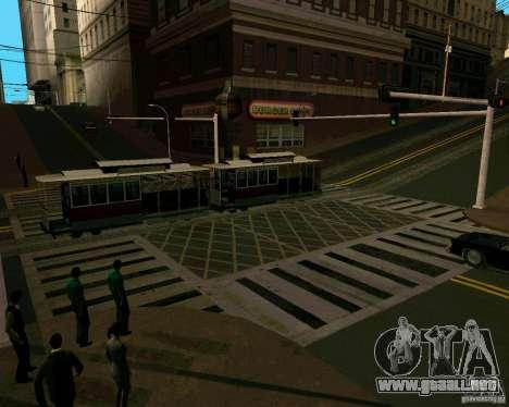 GTA 4 Roads para GTA San Andreas quinta pantalla