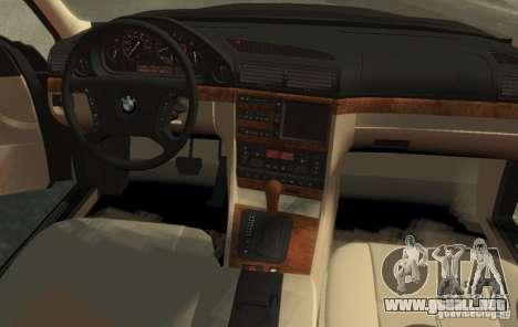 BMW 750i E38 1998 M-Packet para GTA 4 left
