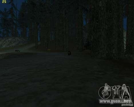 Oso para GTA San Andreas tercera pantalla
