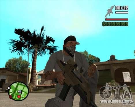 End Of Days: XM8 (HD) para GTA San Andreas segunda pantalla
