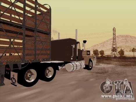 Mack RoadTrain para la visión correcta GTA San Andreas
