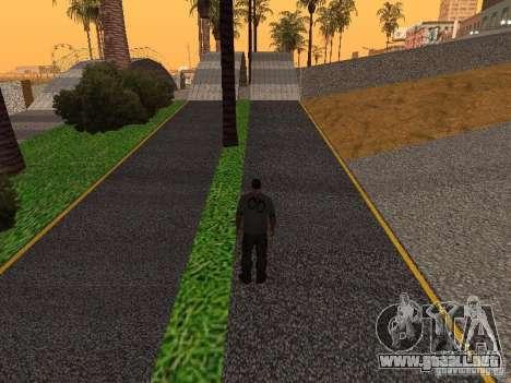 HD Santa Maria Beach para GTA San Andreas octavo de pantalla