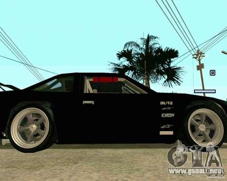 Hotring Racer Tuned para la vista superior GTA San Andreas