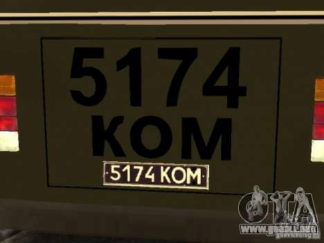 PAZ 672 v2 para la visión correcta GTA San Andreas