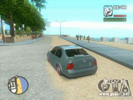 VW Bora Tuned para la visión correcta GTA San Andreas