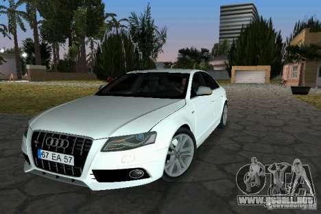 Audi S4 2010 para GTA Vice City
