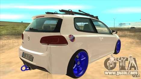 Volkswagen Golf MK6 Hybrid GTI JDM para la visión correcta GTA San Andreas